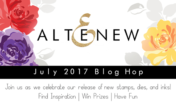 Hello Crafty Friends, Iu0027m Popping In To Announce The Altenew July 2017  Release Blog Hop Winner!!