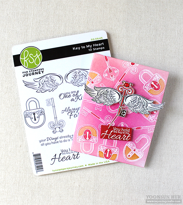 Spellbinders January 2019 Stamp of the Month – Key To My